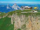Luftaufnahme Gipfel Restaurant Fronalpstock